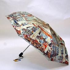 Зонт-автомат женский Ame Yoke ОК58-3 фотосатинЗонты<br><br>