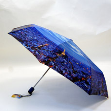 Зонт-автомат женский Ame Yoke ОК58-5 фотосатинЗонты<br><br>