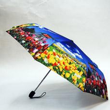 Зонт-автомат женский Ame Yoke ОК58-2-1 эпонжЗонты<br><br>