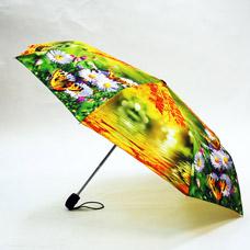Зонт-автомат женский Ame Yoke ОК58-2-2 эпонжЗонты<br><br>