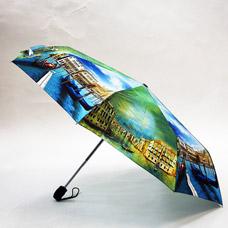 Зонт-автомат женский Ame Yoke ОК58-2-3 эпонжЗонты<br><br>