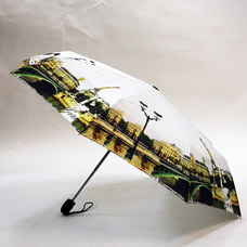 Зонт-автомат женский Ame Yoke ОК58-2-4 эпонжЗонты<br><br>