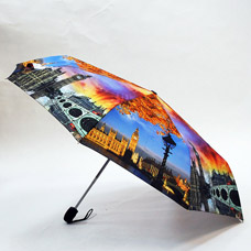 Зонт-автомат женский Ame Yoke ОК58-2-5 эпонжЗонты<br><br>