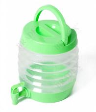 Емкость для напитков с дозатором складная Бочонок Bradex TK 0092Товары для автолюбителей <br><br>