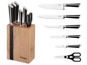 Набор ножей Erringen и ножницы с подставкой. Толщина лезвия 2-3 ммНожи<br><br>