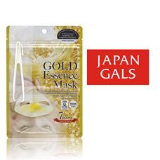 Japan Gals Маска с «золотым» составом Essence Mask 7 шт арт. 80129Японская косметика<br><br>