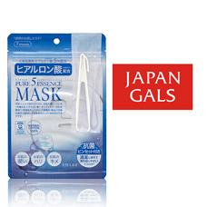 Japan Gals Маска с гиалуроновой кислотой Pure5 Essential 7 шт арт. 9731Японская косметика<br><br>