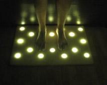 Домашний коврик с LED подсветкой 4541BПолезные вещи для дома<br><br>