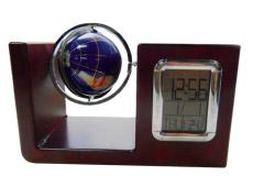 Настольный прибор с часами и глобусом VWG-5534Сувениры<br><br>