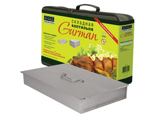 Складная коптильня Camping World Gurman, размер L 138214Шашлык, барбекю<br><br>