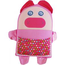 Подушка игрушка Свинка с карманом Мнушки Аи29вел09Подушки для детей<br><br>
