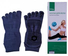 Носки для занятий йогой противоскользящие Medolla 4041NY-DРазное<br><br>