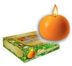 Свеча ароматизированная Мандарин B&amp;H BH1005Товары для праздника<br><br>