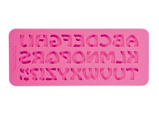 Силиконовые формочки Delicia Deco, алфавит ретро Tescoma 633055Выпечка<br><br>