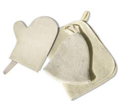 Набор из трех предметов (Шапка,Коврик, рукавица) Hot Pot 42013Все для бани<br><br>