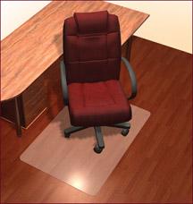 Защитное напольное покрытие под стул 90x120см Vortex 22505Полезные вещи для дома<br><br>