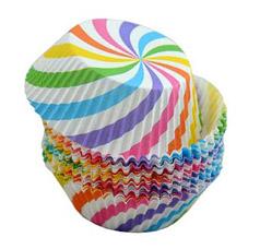 Формы для выпечки кексов бумажные Праздник Marmiton 17052Товары для выпечки<br><br>