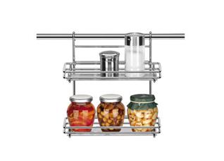 Полка 26х10 см, двухэтажная, Tescoma 900022Организация и уборка кухни<br><br>