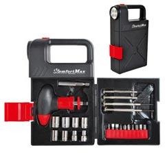 Набор инструментов с фонарем KomfortMax KF-1024Строительные инструменты<br><br>