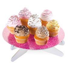 Подставка для торта Delicia, розовые листочки Tescoma 630734Сервировка<br><br>