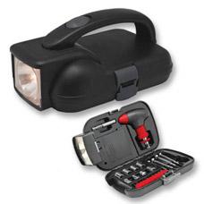 Набор инструментов в кейсе с фонарем Irit IR-104HСтроительные инструменты<br><br>