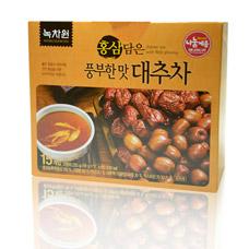 Напиток из фиников с красным женьшенем - Jujube tea with red ginsengКорейский чай<br><br>