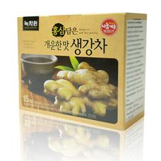 Напиток из имбиря c красным женьшенем - Ginger Tea with Red GinsengКорейский чай<br><br>
