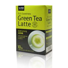 Зеленый чай Латте - Green tea latteКорейский чай<br><br>