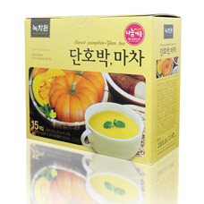 Напиток из сладкой тыквы и ямса - Sweet pumpkin yam teaКорейский чай<br><br>