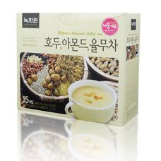 Напиток с грецким орехом, миндалем, коиксом - Walnut, almond, adlai teaКорейский чай<br><br>