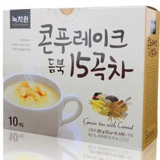 Зерновой напиток с кукурузными хлопьями - Grain tea with cerealКорейский чай<br><br>