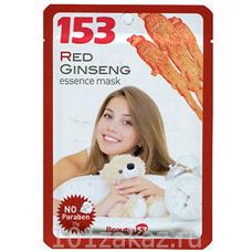 153 Маска-салфетка для лица с Красного женшеняКорейская косметика<br><br>