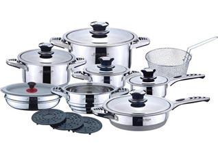 Набор посуды Frank Muller FM-8000, 19пр, 7 слойное дноПосуда<br><br>