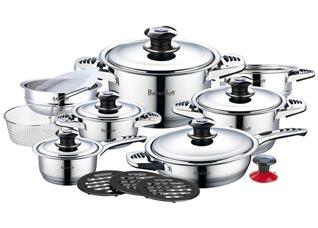 Набор посуды Bayerhoff BH-900, 19пр, 7 слойное дноПосуда<br><br>