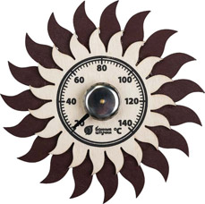 Термометр для бани и сауны Солнышко Банные штучки 18043Все для бани<br><br>