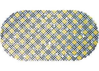 Коврик против скольжения Клетка овал 36x69см Vortex 15052Все для бани<br><br>