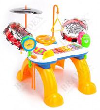 Станция музыкальная Мелодия детская Bradex DE 0079игрушки<br><br>