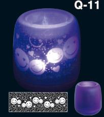 Электронная светодиодная свеча Задуй Меня - Смайлики Q11Светильники<br><br>