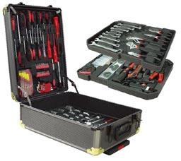 Набор инструментов в чемодане, 187 предметов Swiss Tools ST-1069Строительные инструменты<br><br>