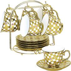 Чайно-кофейный сервиз из 13пр Bekker BK-5920Сервировка стола<br><br>