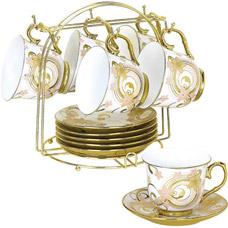 Чайно-кофейный сервиз из 13пр Bekker BK-5921Сервировка стола<br><br>