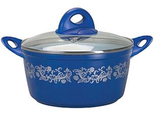 Кастрюля PomidOro CL2683 Rabesco с керам. покр.Посуда<br><br>