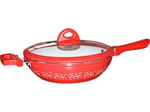 Сотейник PomidOro DL2671 Primavera с керам. покр.Керамические сковороды<br><br>