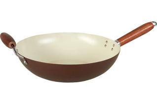Вок PomidOro W3347 Milano с керам. покр.Керамические сковороды<br><br>