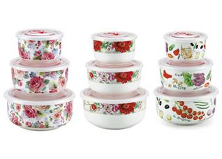 Набор контейнеров Bekker BK-5116 3 штХранение продуктов<br><br>