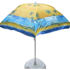 Пляжный зонт Ecos BU-03 160x6см, складная штанга 165см арт. 999353Зонты<br><br>