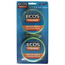 Леска Ecos BBC-5604 (2 катушки в блистере) арт. 324103Для рыбалки<br><br>