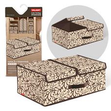 Короб стеллажный 2-х секционный, 50x30x20см, Classic Valiant CL-BOX-L2Товары для гардероба<br><br>