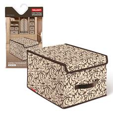 Короб стеллажный с крышкой, большой, 30x40x25см, Classic Valiant CL-BOX-LMТовары для гардероба<br><br>