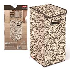 Корзина для белья с крышкой, 35x35x60см, Classic Valiant CL-BOX-LXLТовары для гардероба<br><br>